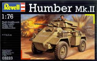 HUMBER MkII - 8ème Armée britannique - Unité inconnue - Libye 1942-43 - REVELL - 1/76 Revell10