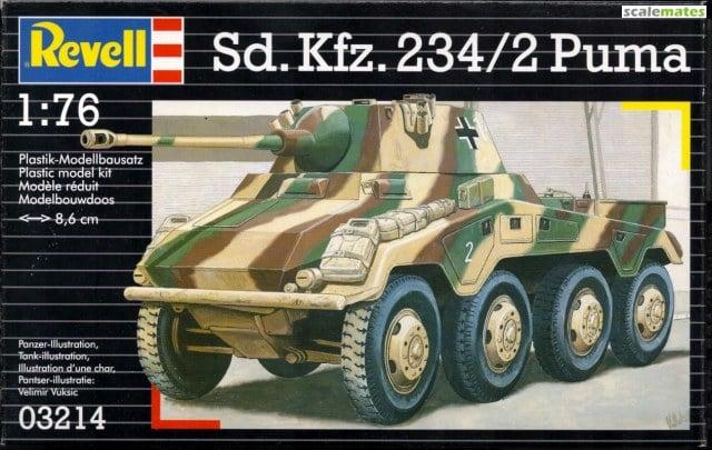 Sd.Kfz.234/2 Puma - 1. Panzer Aufklärungsabteilung - Lehr Division - Novembre 1944 - REVELL - 1/76 Revell11