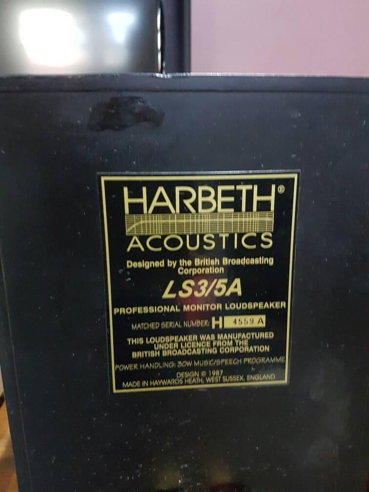 Harbeth LS3/5A Monitor Speaker (Sold) Img-2011