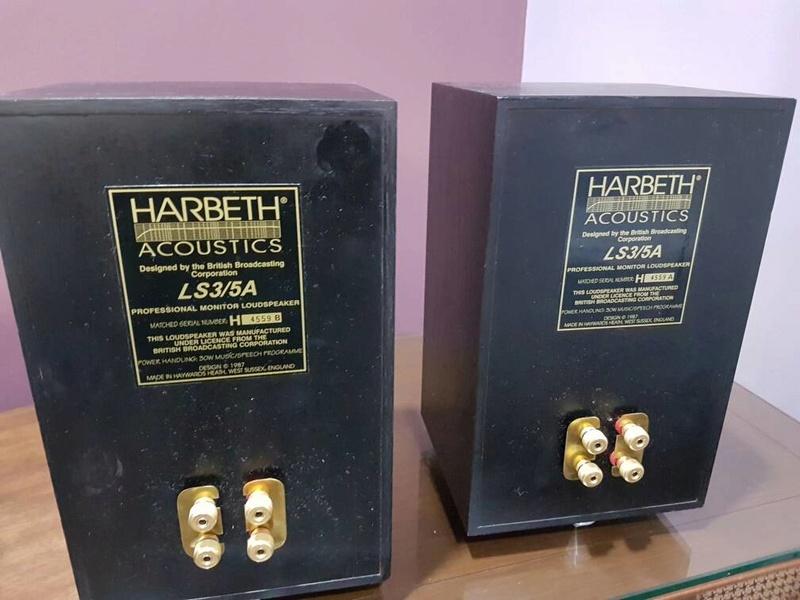 Harbeth LS3/5A Monitor Speaker (Sold) Img-2017