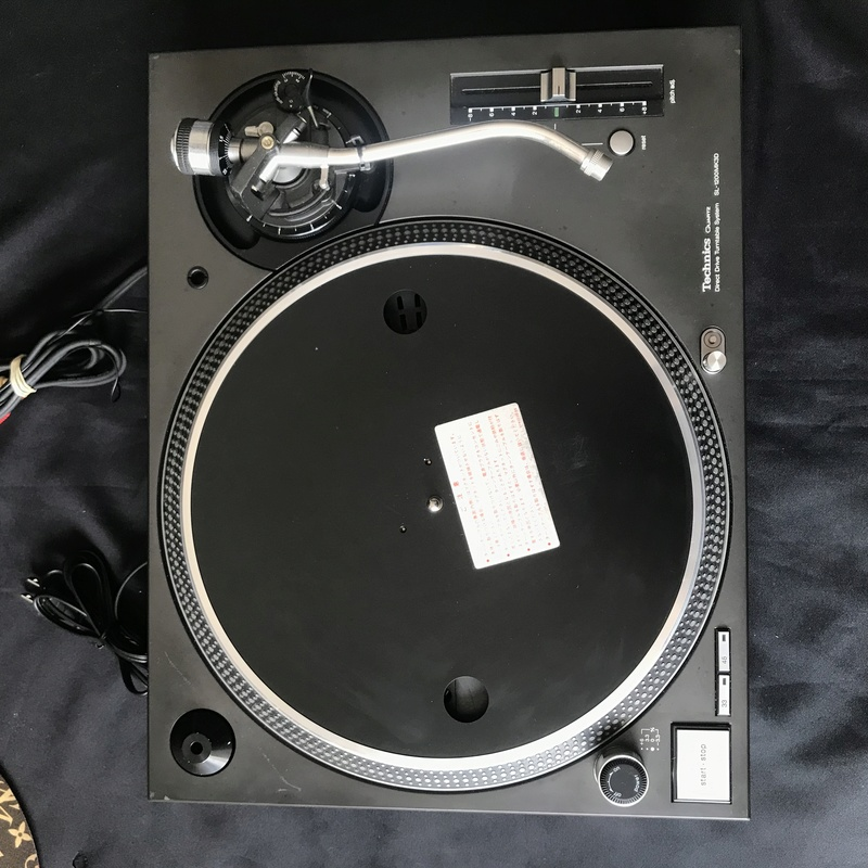 Technics SL 1200 MK3D (used) Img_6310