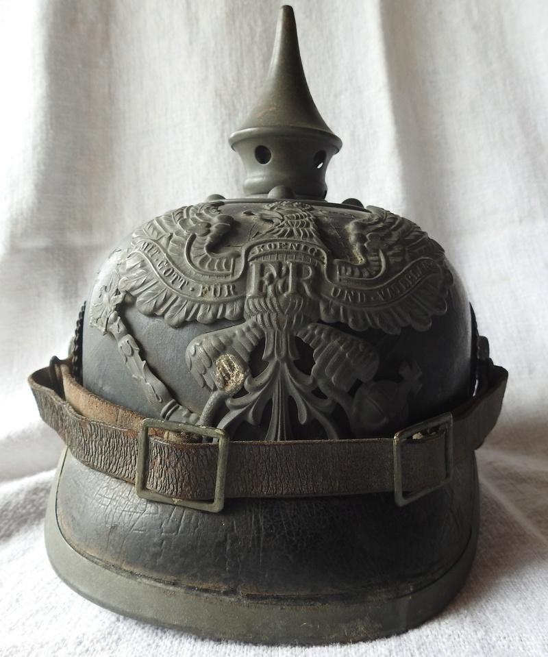 casque à pointe Prussien modèle 1915 pointe amovible Dscn4012