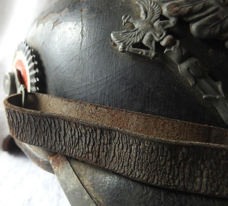 casque à pointe Prussien modèle 1915 pointe amovible Dscn4013