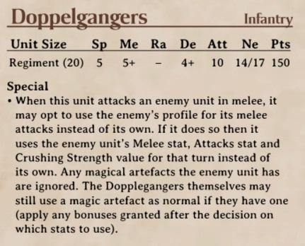 Liste teste, Halflings avec alliers doppelganger Dopple10