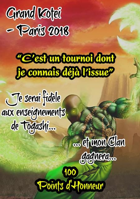 Grand Kotei Paris - Meta Stratégie Togash10