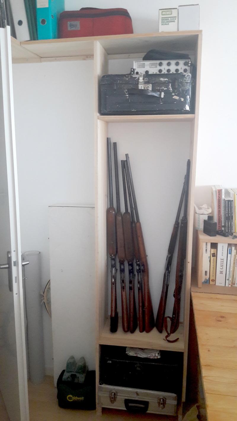 Présentation murale de vos armes ? - Page 3 Rateli10