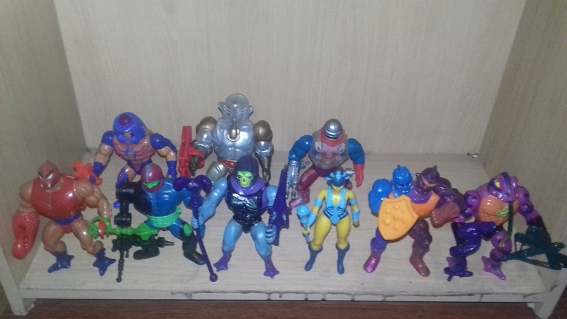 Ma collection Masters of the Universe vintage 20180325