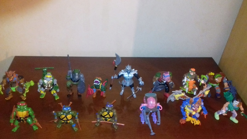 Ma collection Tortues Ninjas vintage 28958810