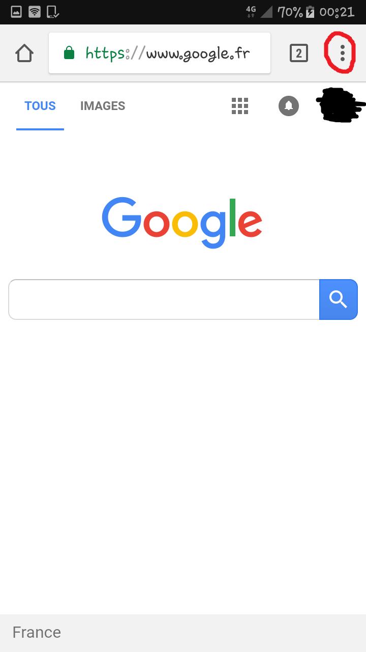 Récupérer un mot de passe oublié/perdue sur Google Chrome via l'appli Chrome d'android. Mdp_ry10