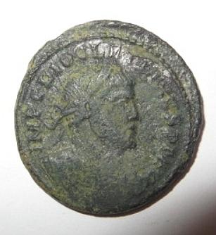 Dioclétianus grand follis ? Avers17