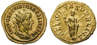 Trebonianus Gallus, felicitas publica. Binio10