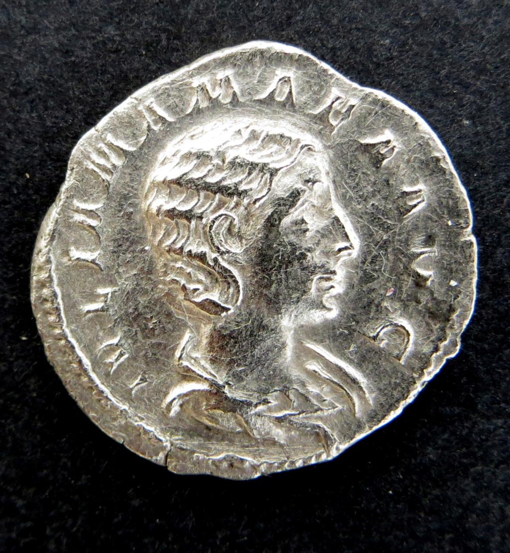 denarius argenteus Mamaea10