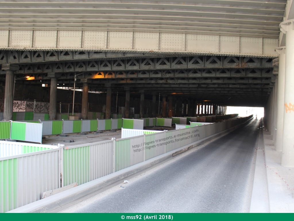 Tramway T3b : Porte Dauphine - Porte de Vincennes - Page 13 Photo011