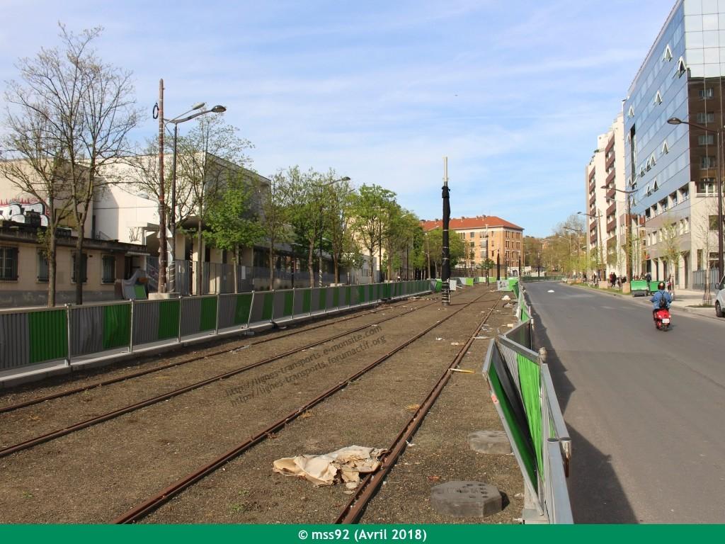 Tramway T3b : Porte Dauphine - Porte de Vincennes - Page 13 Photo013
