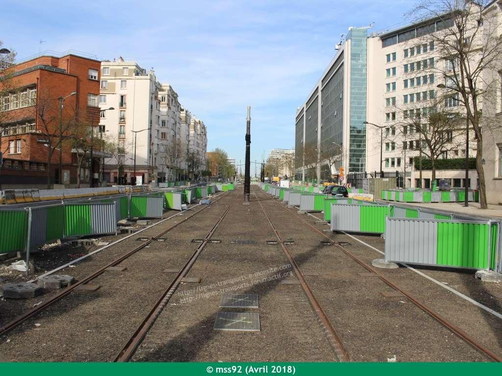 Tramway T3b : Porte Dauphine - Porte de Vincennes - Page 13 Photo014