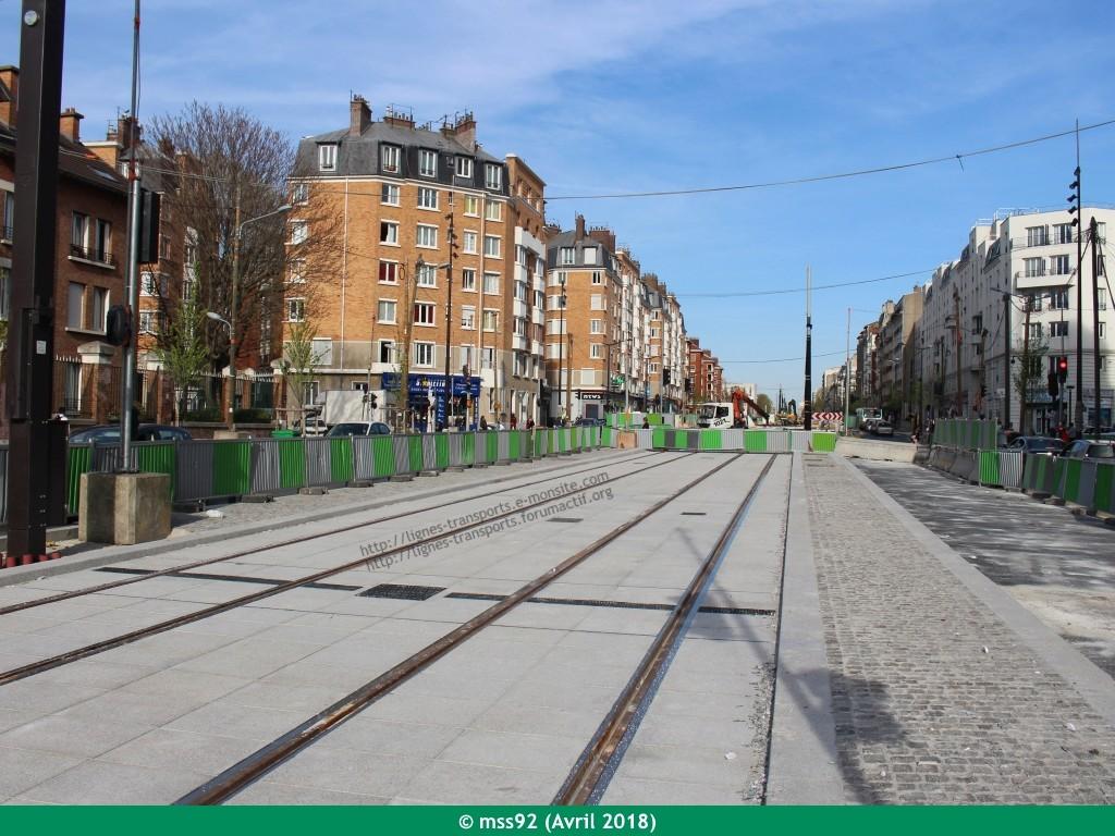 Tramway T3b : Porte Dauphine - Porte de Vincennes - Page 13 Photo112