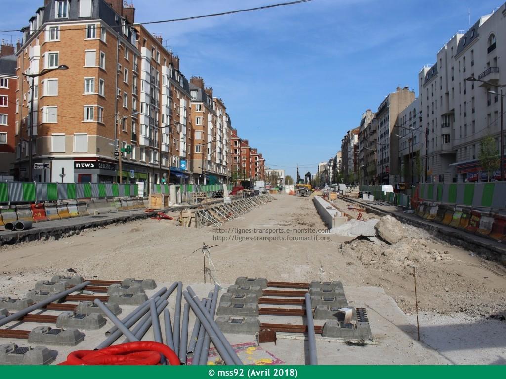 Tramway T3b : Porte Dauphine - Porte de Vincennes - Page 13 Photo113