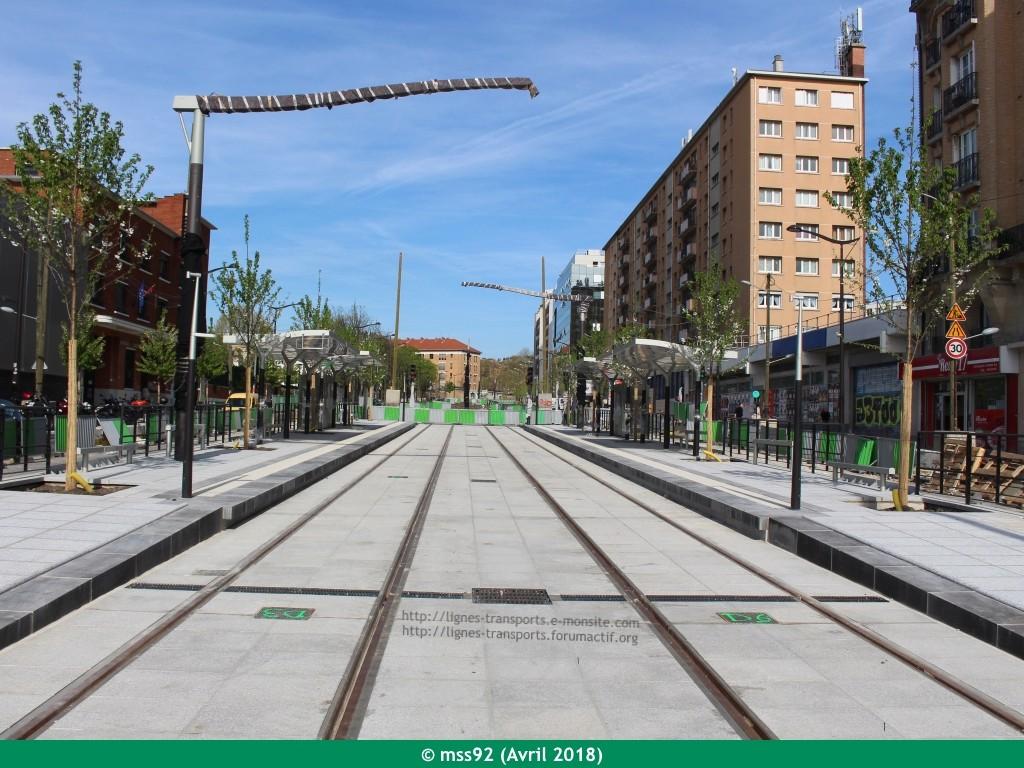 Tramway T3b : Porte Dauphine - Porte de Vincennes - Page 13 Photo119