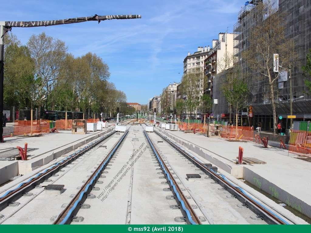 Tramway T3b : Porte Dauphine - Porte de Vincennes - Page 13 Photo120