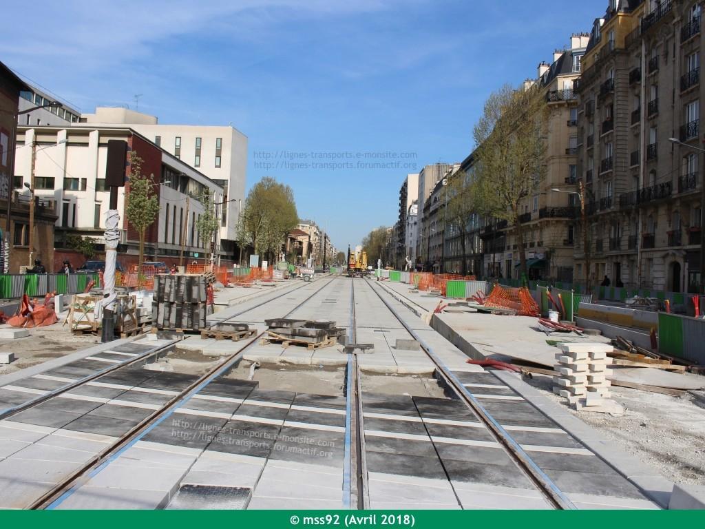 Tramway T3b : Porte Dauphine - Porte de Vincennes - Page 13 Photo121