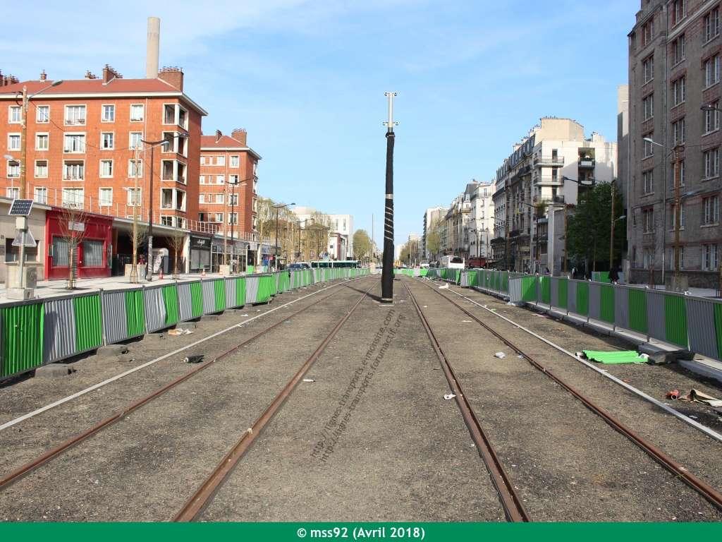Tramway T3b : Porte Dauphine - Porte de Vincennes - Page 13 Photo122
