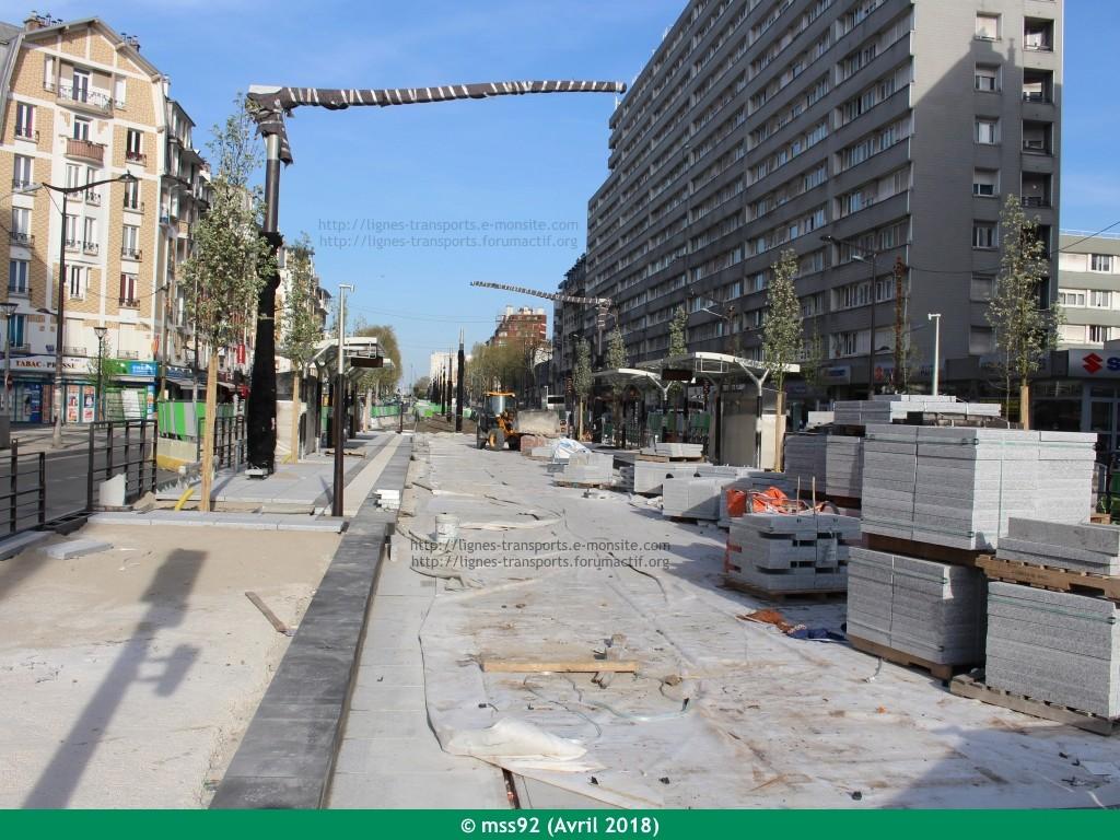 Tramway T3b : Porte Dauphine - Porte de Vincennes - Page 13 Photo123