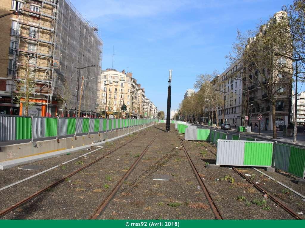 Tramway T3b : Porte Dauphine - Porte de Vincennes - Page 13 Photo124