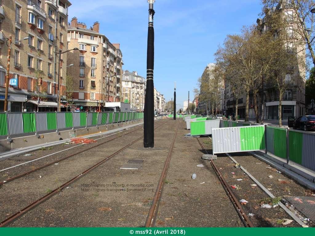Tramway T3b : Porte Dauphine - Porte de Vincennes - Page 13 Photo125