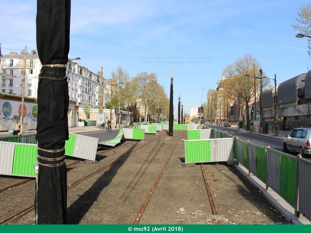 Tramway T3b : Porte Dauphine - Porte de Vincennes - Page 13 Photo210