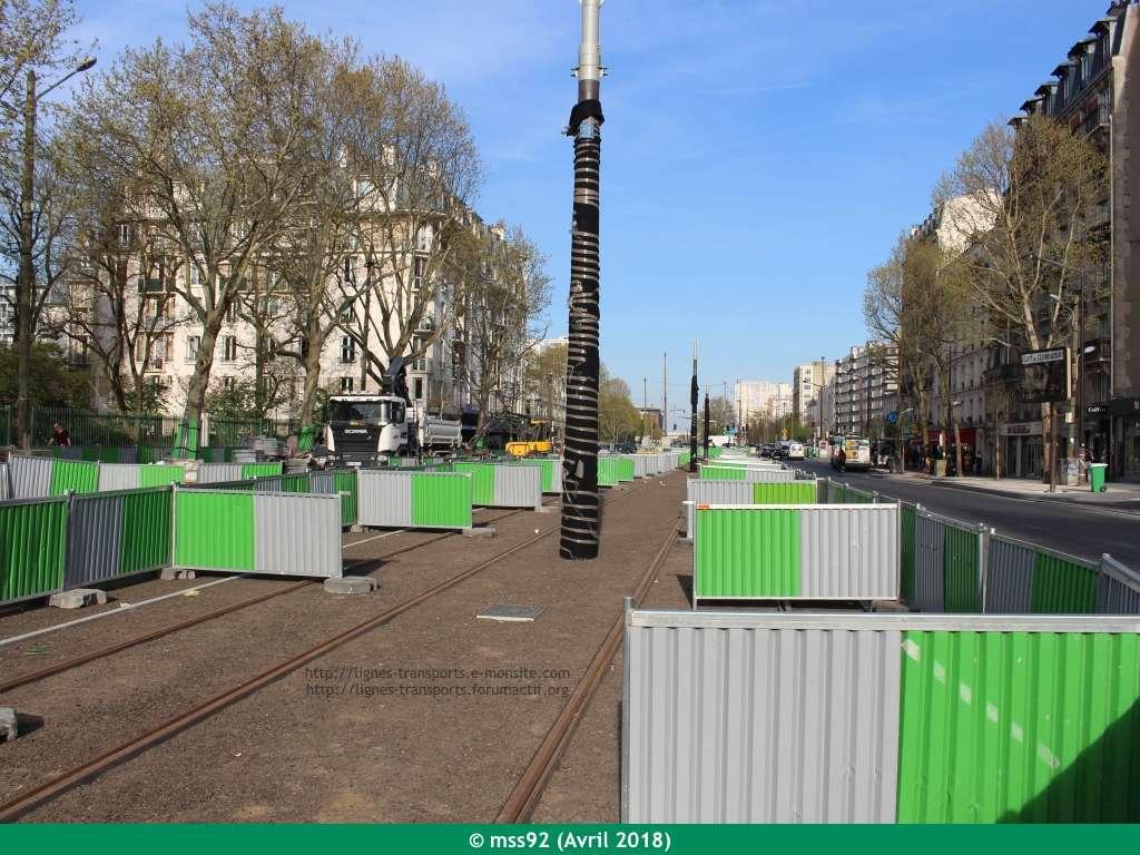 Tramway T3b : Porte Dauphine - Porte de Vincennes - Page 13 Photo211