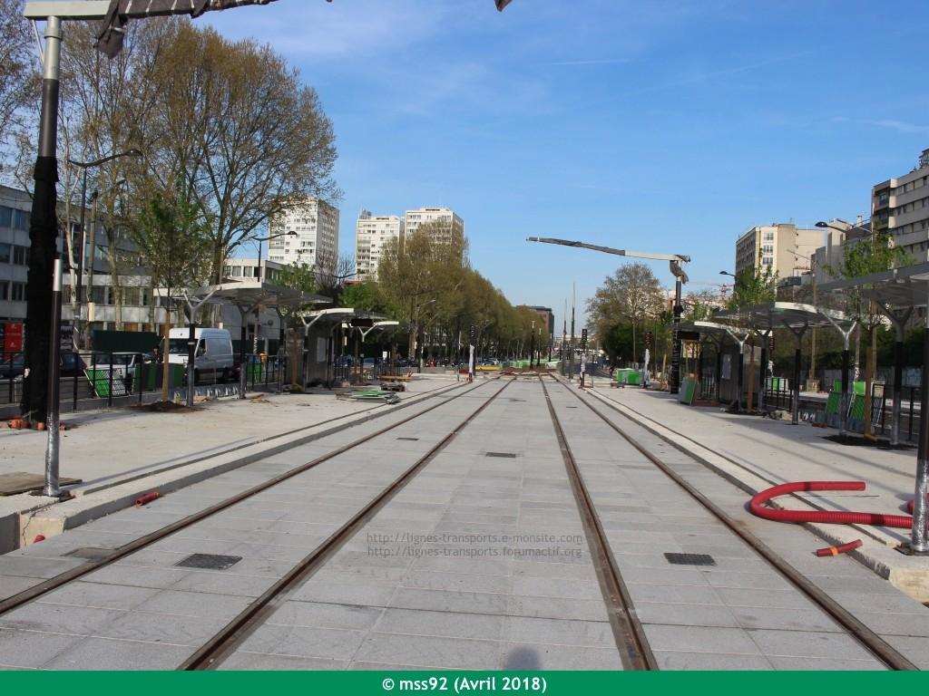 Tramway T3b : Porte Dauphine - Porte de Vincennes - Page 13 Photo212