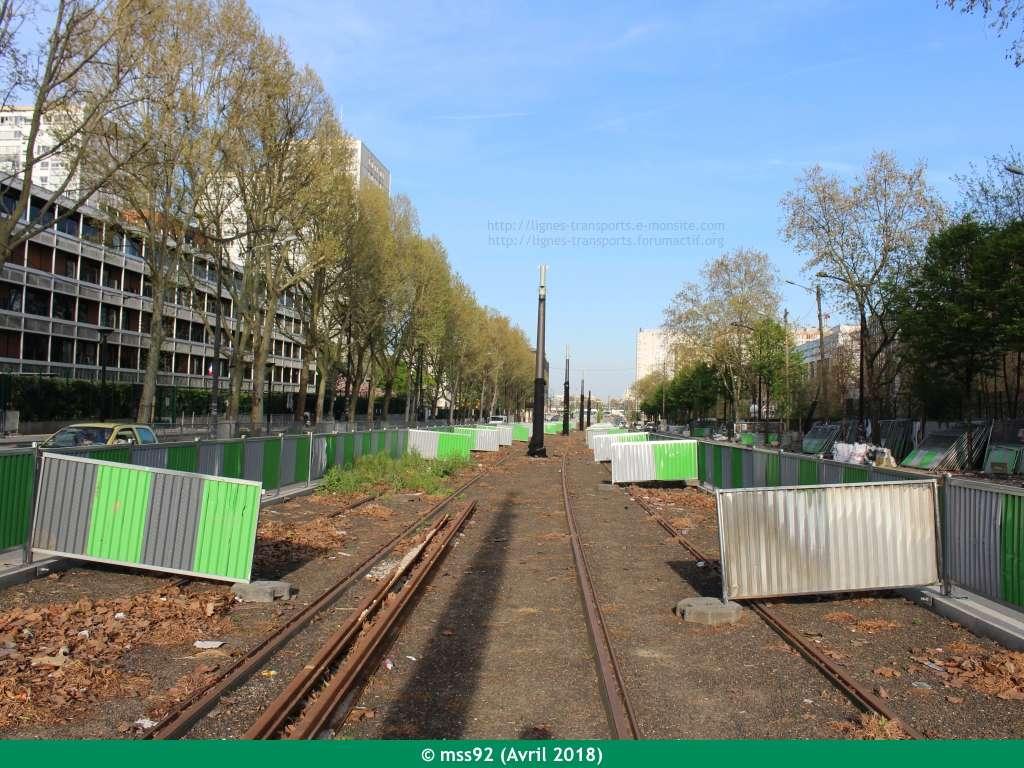 Tramway T3b : Porte Dauphine - Porte de Vincennes - Page 13 Photo213