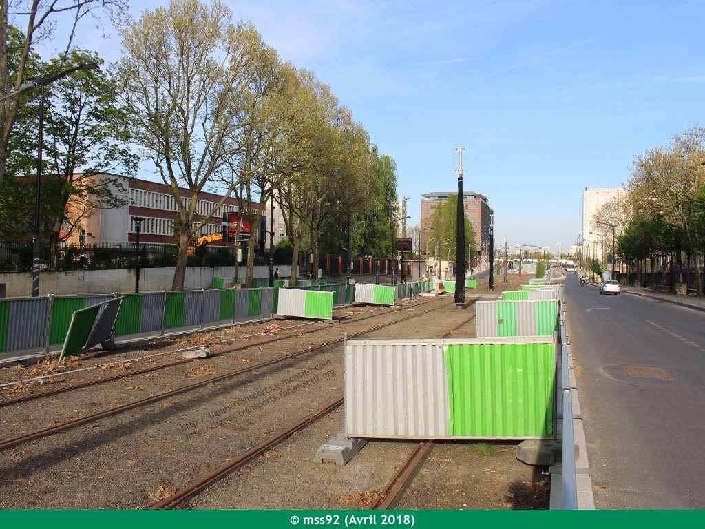 Tramway T3b : Porte Dauphine - Porte de Vincennes - Page 13 Photo215