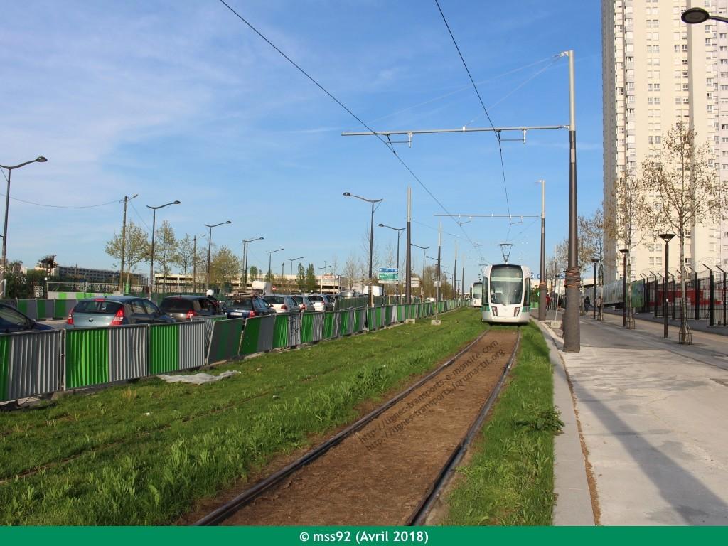 Tramway T3b : Porte Dauphine - Porte de Vincennes - Page 13 Photo217