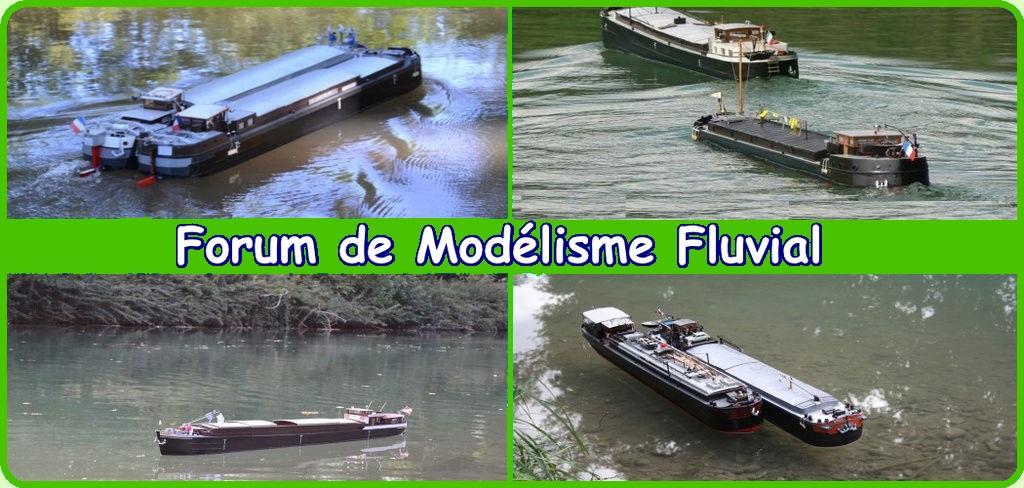 Maquette fluvial