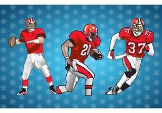 L'equipe de Football Américain  Americ10