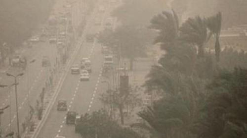 """الارصاد"""" تحذر من رياح مثيرة للرمال والأتربة تصل لحد العاصفة 1082"""
