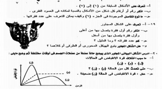 بوكليت مراجعة الدعامة والحركة احياء ثالثة ثانوي 2018 مستر محمد فتحى 2147