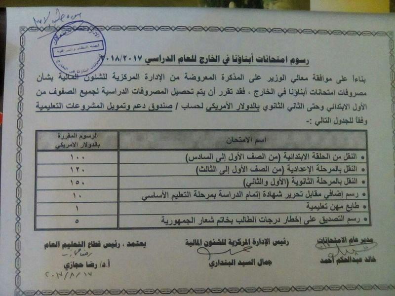 """التعليم"""" تكشف اسباب تحصيل مصروفات الطلاب المصريين بالسعودية بالدولار 248"""