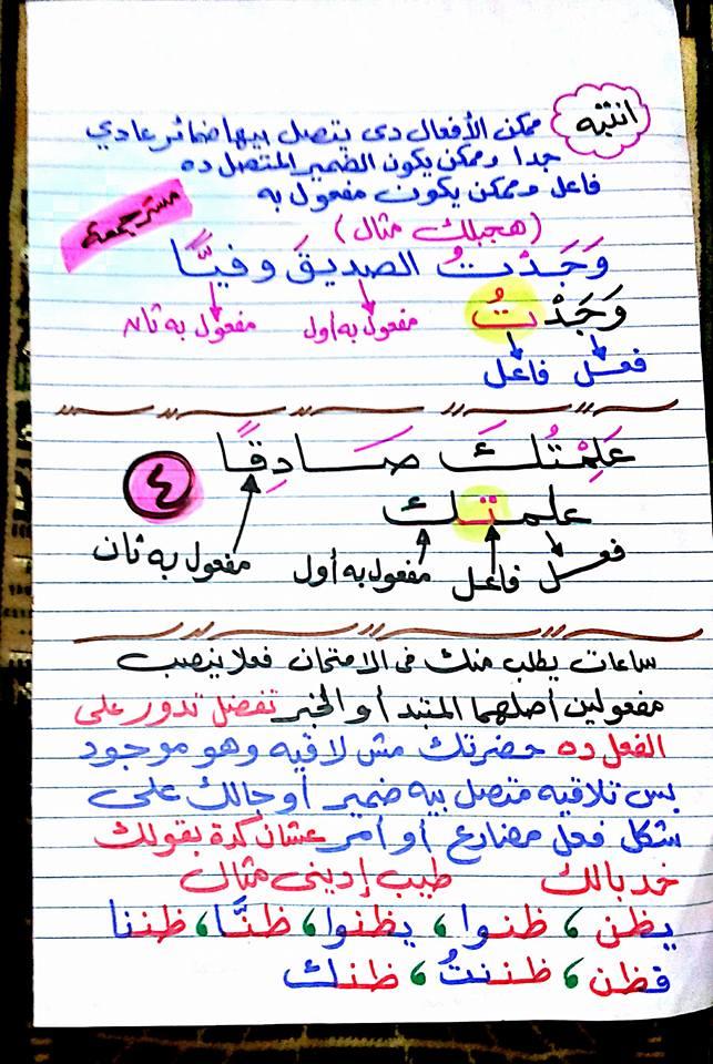 مراجعة ظن وأخواتها للصف الأول الاعدادي - مستر جمعة قرني 4366