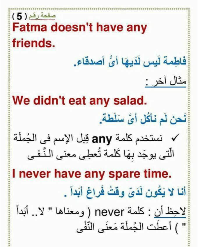 استخدام an و a و any و some  و الفرق بينهم 529