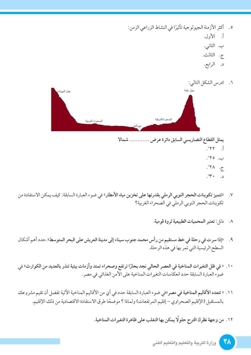 إجابة اختبار الوزارة جغرافيا أولى ثانوى ترم أول 2019 أ/ اشرف هاشم A__ou_15