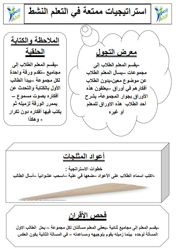 استراتيجيات التعلم النشط 5 ورقات وورد Aa_oo_17