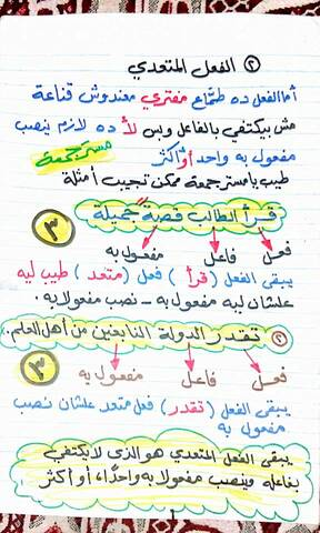 الفعل اللازم والمتعدي   مدونة طيفي