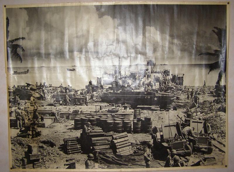 Poster US WW2 - débarquement dans le Pacifique? Poster10