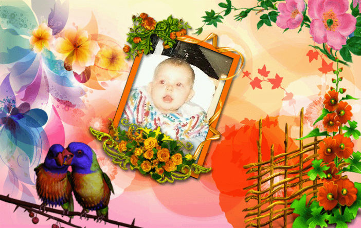 Montage de ma famille - Page 6 Flower11