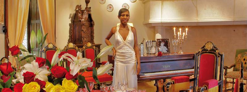 Les milandes , le chateau de Josephine Baker Home-j10