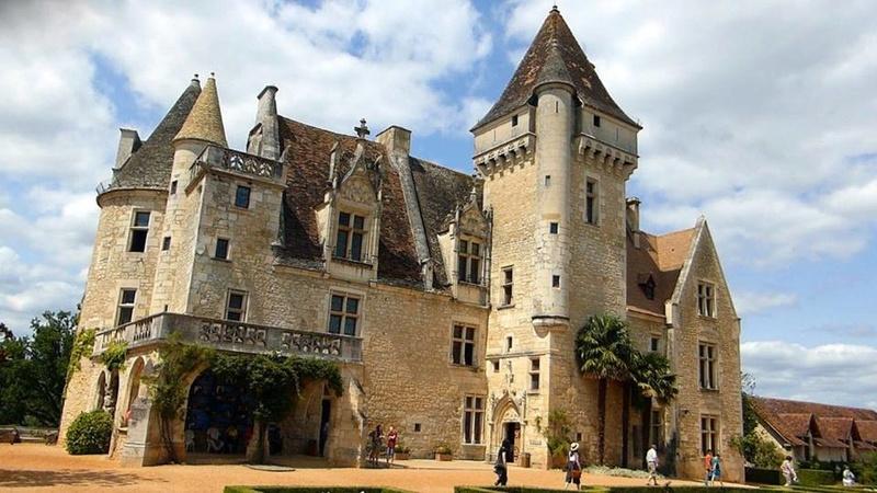Les milandes , le chateau de Josephine Baker La_dem10