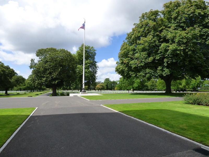 sortie au cimetière américain de st james P1170914