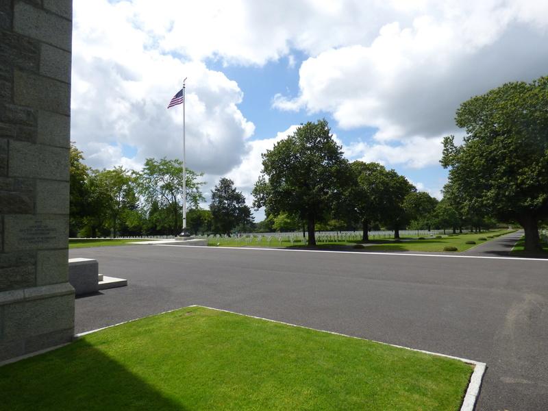 sortie au cimetière américain de st james P1170916